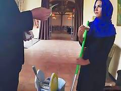 Delightful Arab babe gets teased and fucked by some rich dude