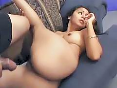 Indian Honey Sprayed With Cum
